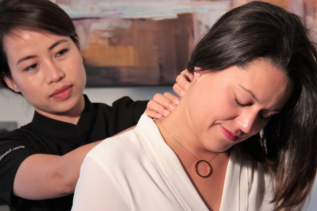 Photo de Massages en entreprise nuque sur chaise - Relaxed