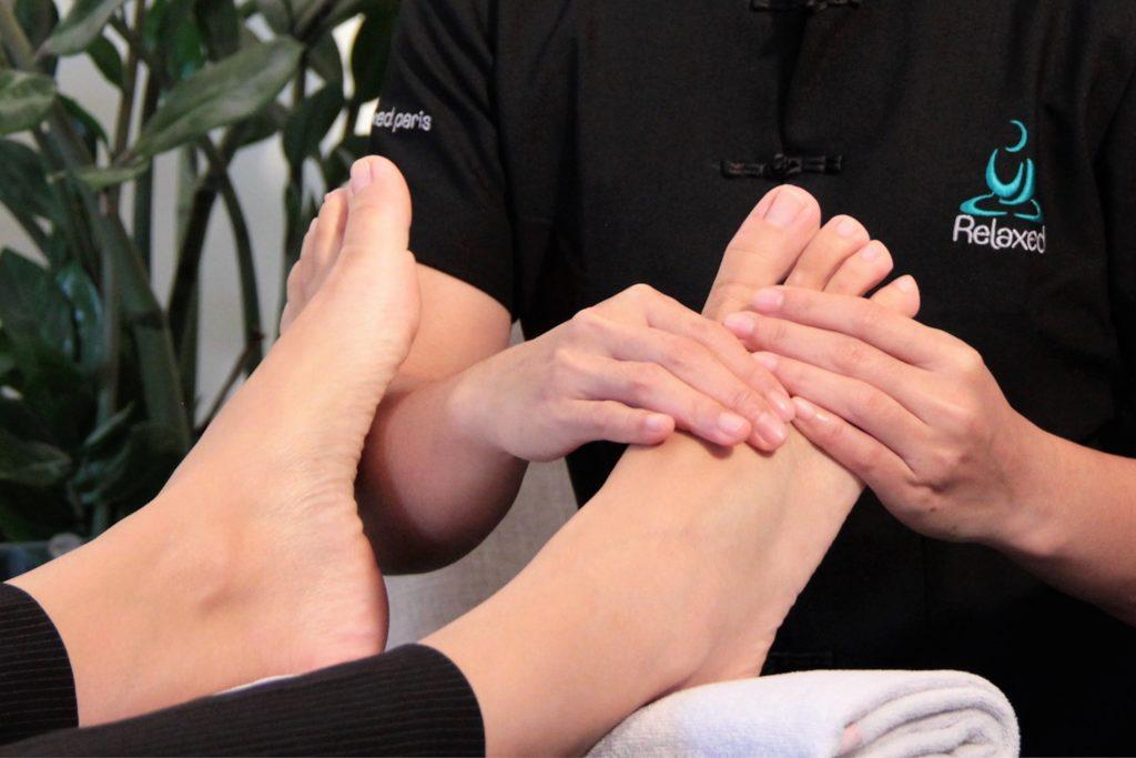 Photo de Massages en entreprise réflexion plantaire - Relaxed