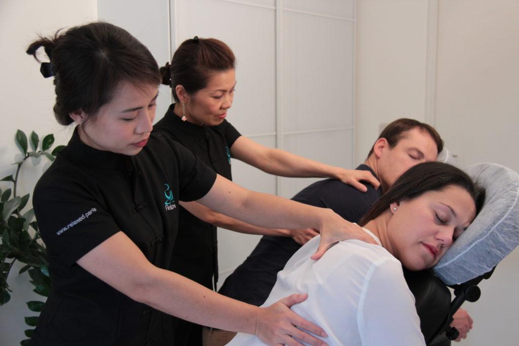 Photo pour Massage en entreprise, un programme sur mesure - Relaxed.paris