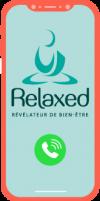 Icone smartphone pour Massages - prise de rdv - Relaxed.paris